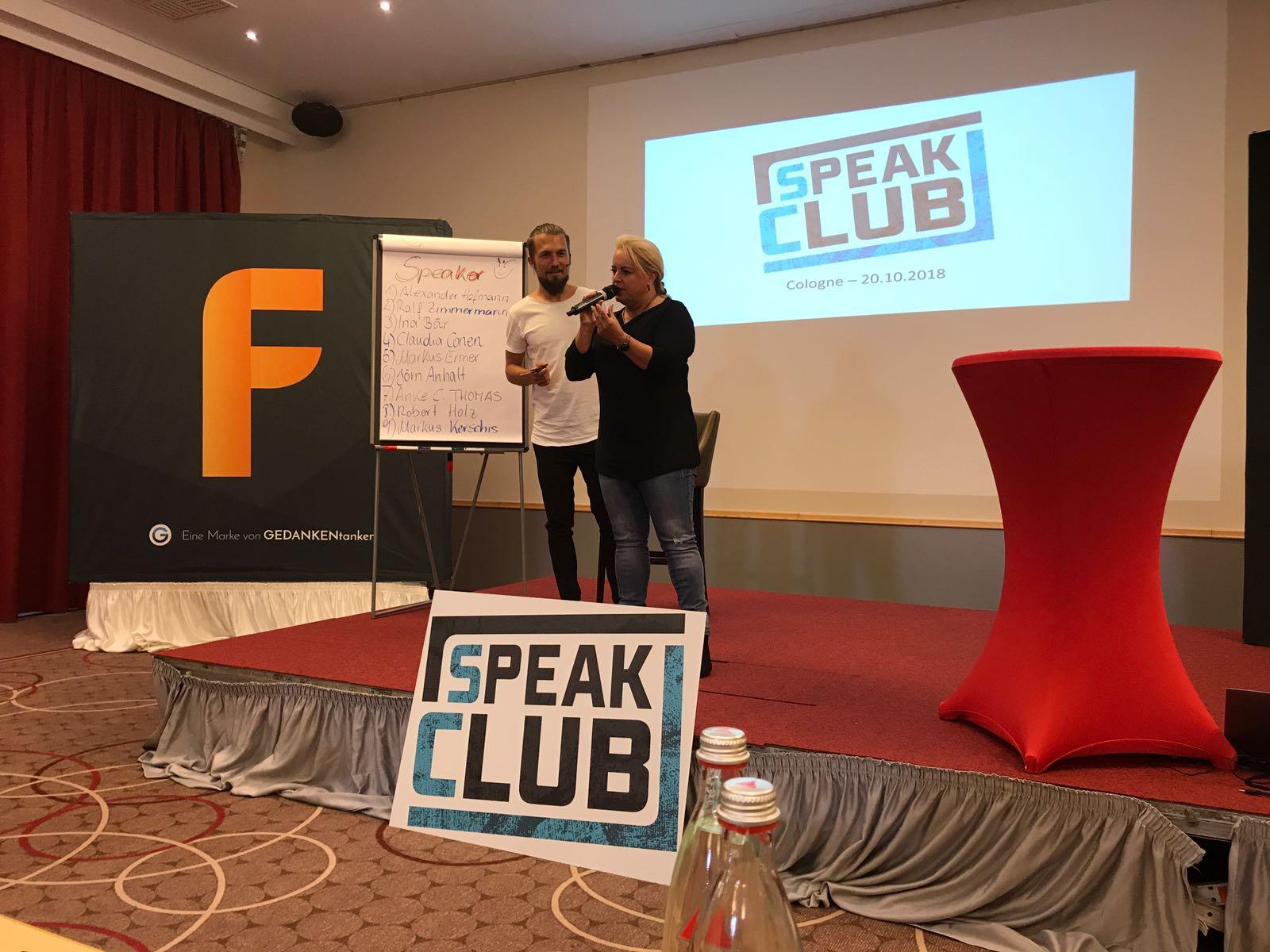 Vortrag Speak Club - Thema Spiegelneuronen
