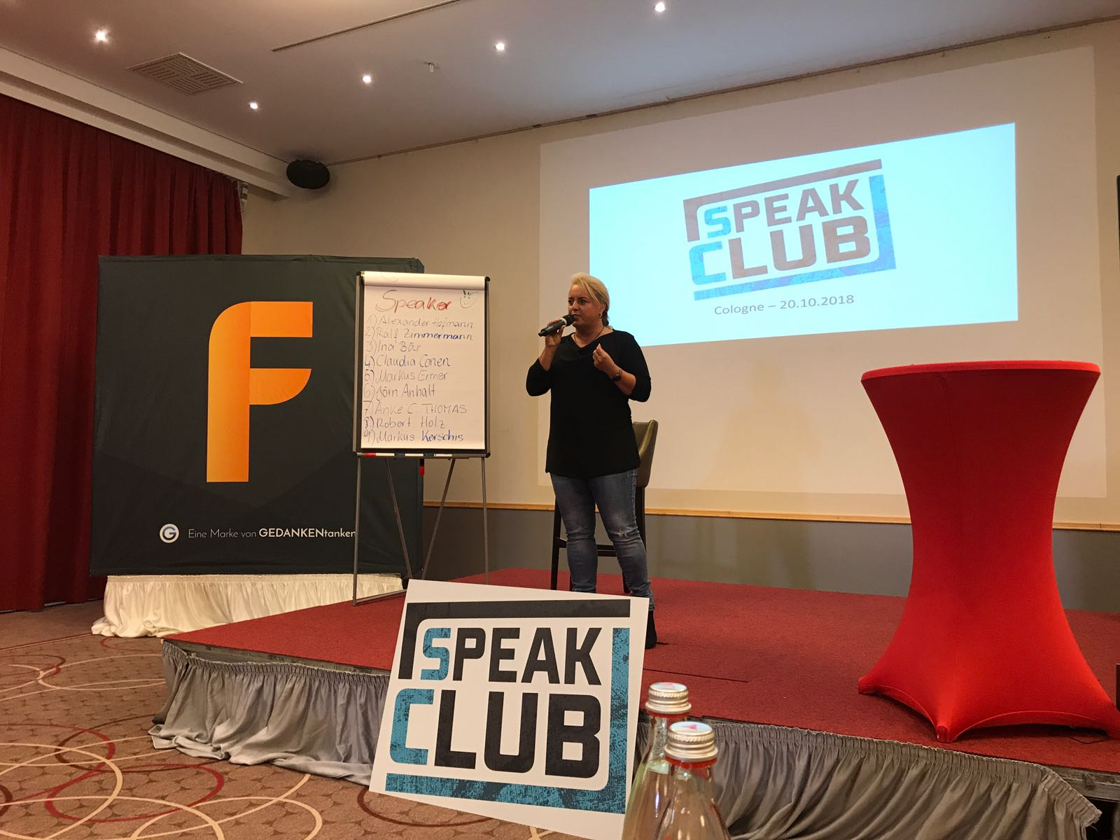 Vortrag Speak Club