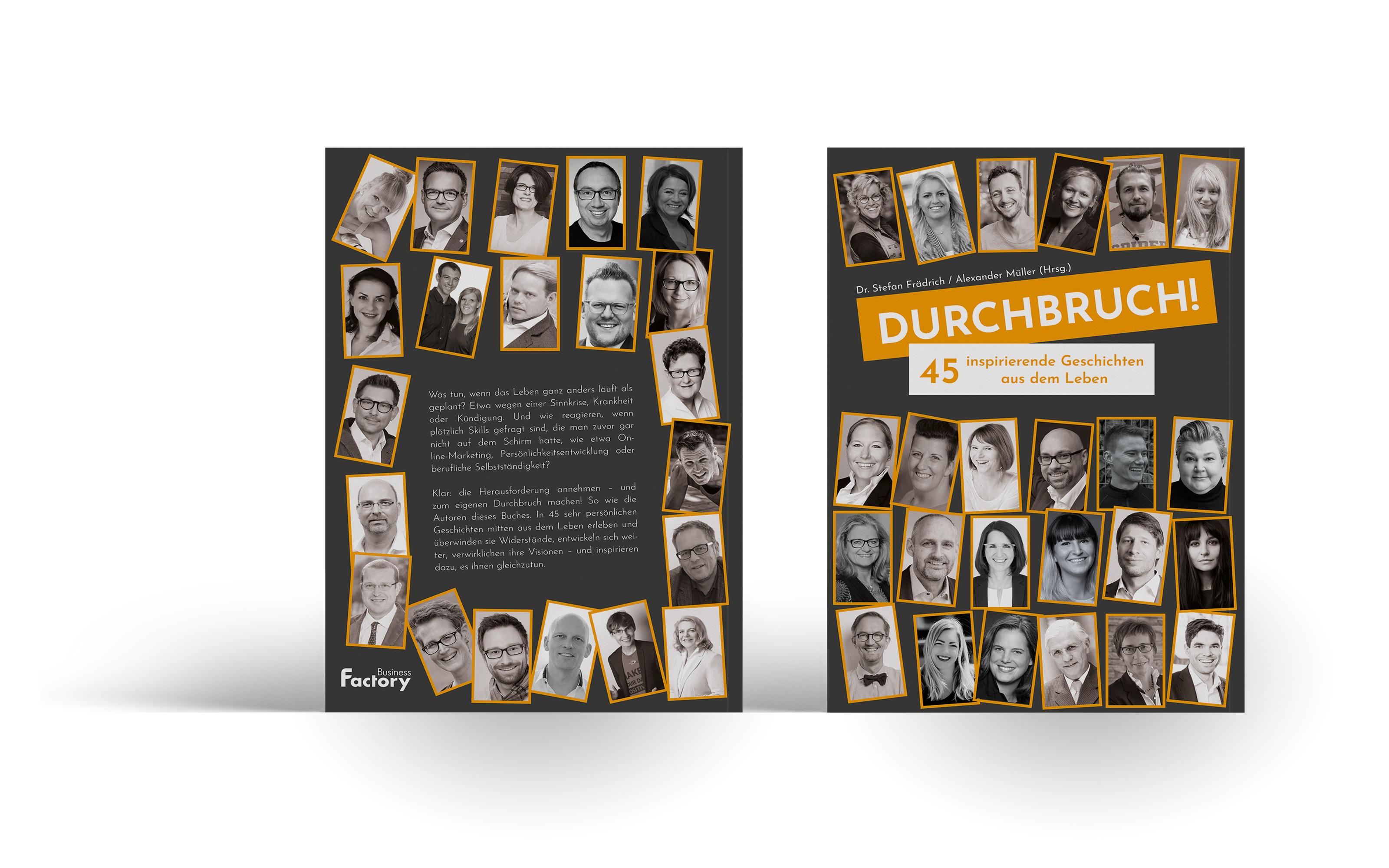 """""""Durchbruch! – 45 inspirierende Geschichten aus dem Leben"""""""
